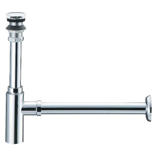 SANEI (三栄水栓) SANEI 【オーバーフローのない洗面器用トラップ】 アフレナシボトルトラップ H7610-25サイズ25