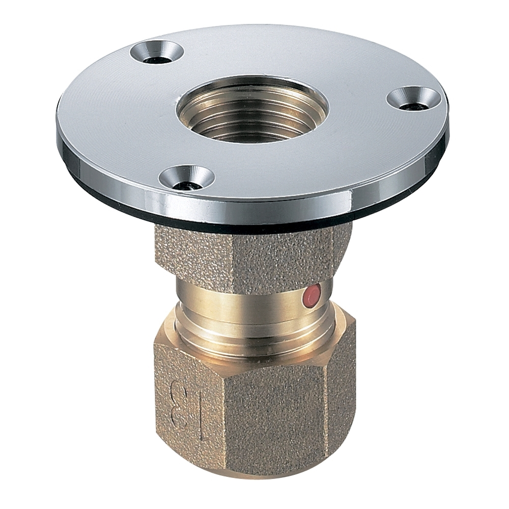 SANEI (三栄水栓) SANEI 配管継手 床立上アダプター T6330N-3-S-13X16A-S