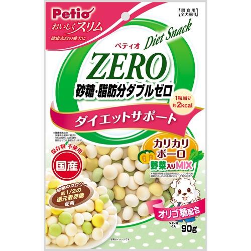 新品 砂糖 脂肪分ゼロなのに 定番から日本未入荷 しっかり美味しい ペティオ 砂糖脂肪分ダブルゼロ 90g ボーロ野菜
