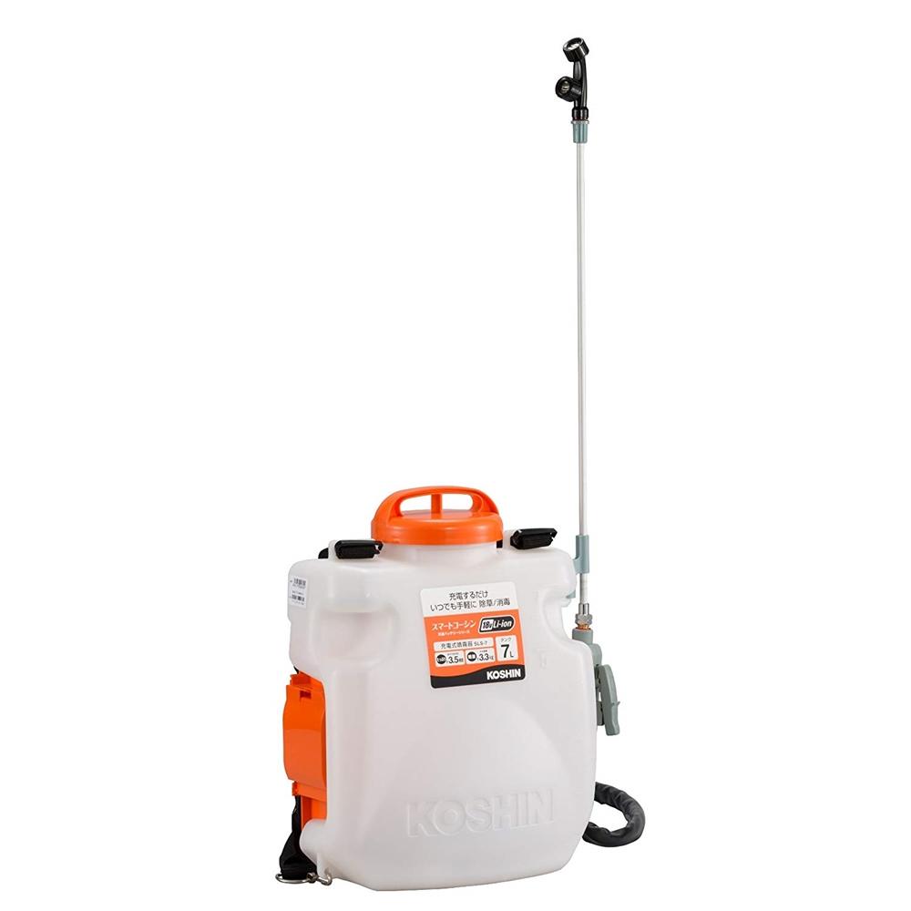 工進 充電式噴霧器 SLS-7 バッテリー・充電器付 タンク容量7L