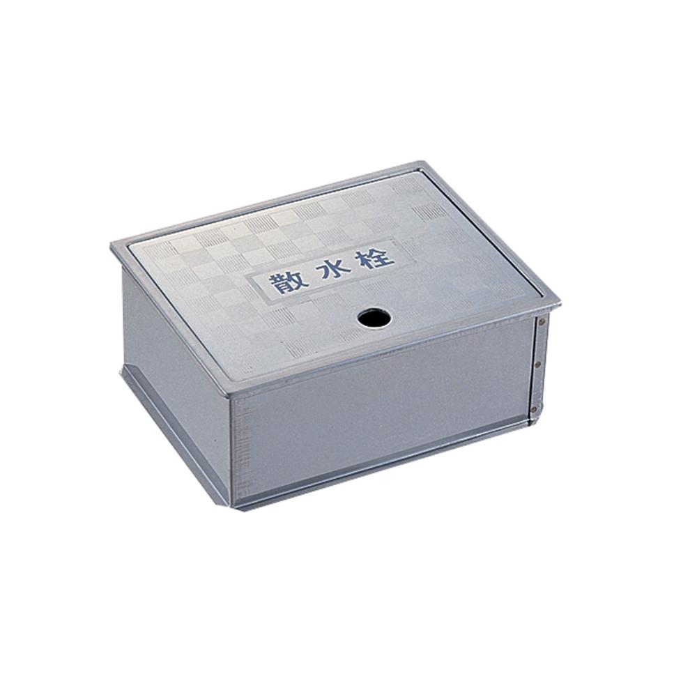 (株)三栄水栓 SANEI 【散水栓ボックス】 床面用 ヘアライン仕上げ R81-4-205X315