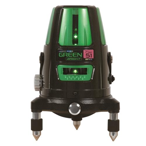 シンワ測定 レーザーロボグリーン Neo51 BRIGHT