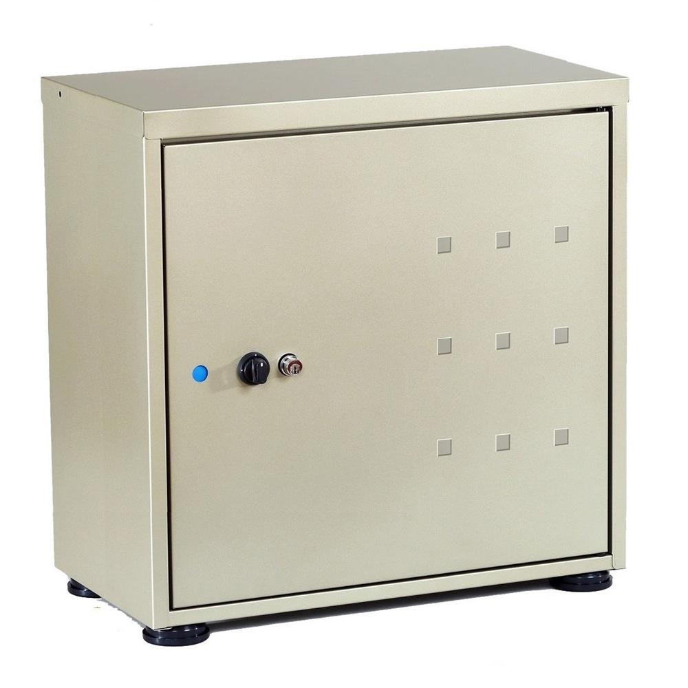 グリーンライフ 宅配ボックス レシーボ TR-2746(TGY) (※下段取付可能スタンド品番:TRS-01 TGY)チタングレー