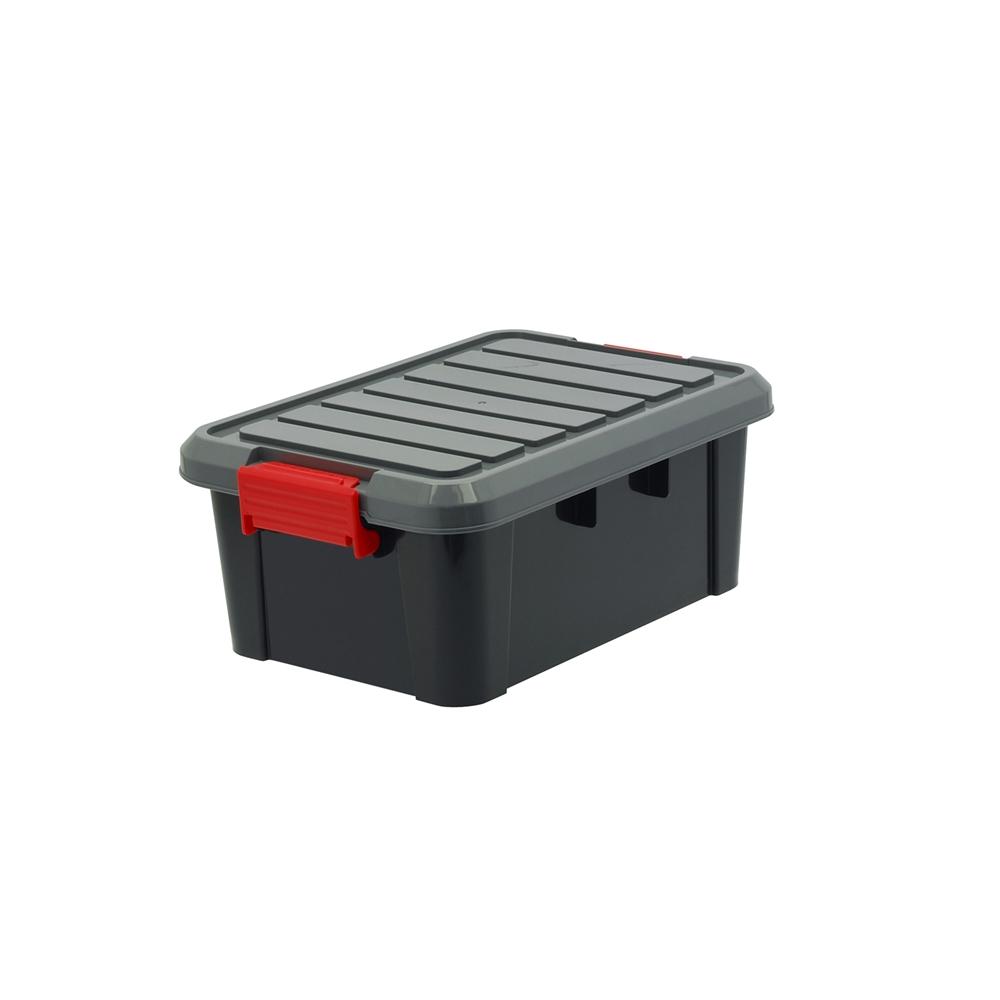 コーナン オリジナルLIFELEX(ライフレックス) ハードコンテナ KHC-01ブラック ×18個セット