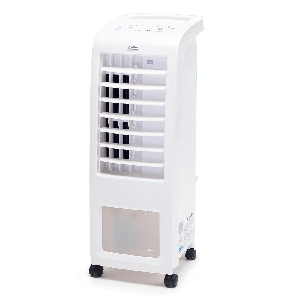 PortTech(ポートテック) リモコン式冷風扇 PAC-770AR(W) ホワイト 約幅23.8×奥行30.2×高さ68.3cm