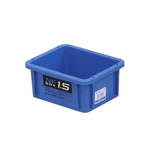 アステージ NFボックス ブルー #1.5 189×154×84mm 60個セット