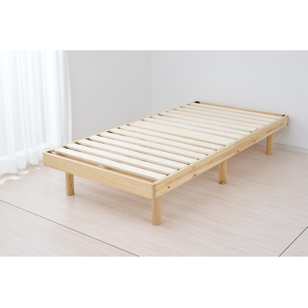 コーナン オリジナル フラット木製ベッド SK18-9925ナチュラル