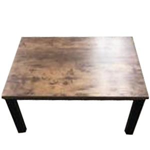 コーナン オリジナル PortTech テーブルこたつ PTG-8060(ABR) 1 アンティークブラウン 幅800×奥行600×高さ380mm