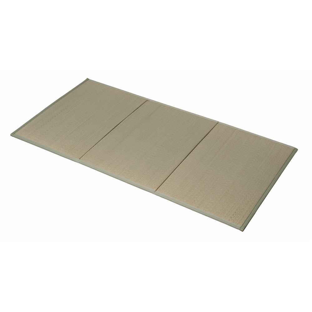 ユニット 畳 3つ折り 置き畳 い草 畳マット 82×164cm KNK06-0397 4枚セット コーナン