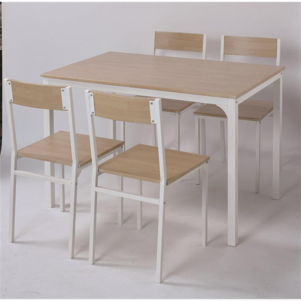 ダイニング 食卓 テーブル チェア セット キッチン リビング コーナンナチュラル/ホワイト