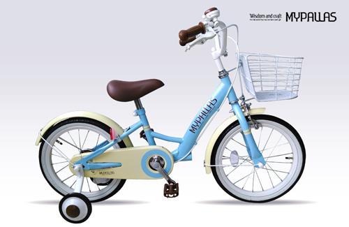 マイパラス 自転車 子供用自転車16 ブルー MD-11  代引不可