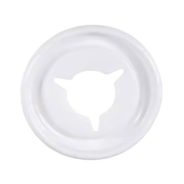【ケース配送】カップ用フタ ダストカップリッド(穴あきタイプ) 100枚入×24袋 ホワイト 5&7オンスサイズ対応 業務用 紙コップ用