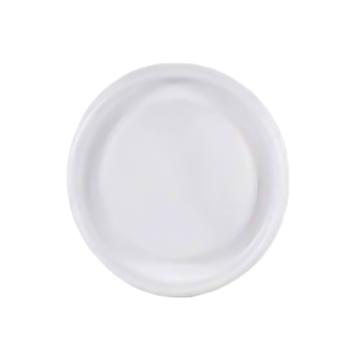 【ケース配送】カップ用フタ カップリッド(穴なしタイプ) 100枚入×24入 ホワイト 5&7オンスサイズ対応 食品衛生法適合品 紙コップ用