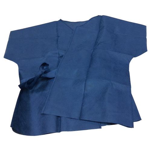 患者着(ショートタイプ) KG-503 フリーサイズ 100枚入  病院 クリニック 検査 手術【05P05Dec15】