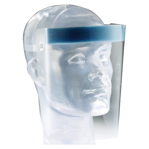【ケース 20個入】フェイスシールド UNIVET703 曇りにくい加工 ディスポ  ユニベット 使い捨て 顔の保護 感染予防 ※お取り寄せ品【05P05Dec15】