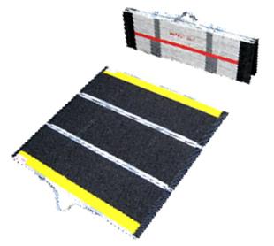 車椅子用段差解消スロープ デクパックMP DECPAC 84cm×87.5cm≪検索用≫【05P05Dec15】