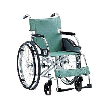 【送料無料】自走用立ち止まり君付車椅子(超軽量基本タイプ)MW-SL1BT※メーカーからの直送の為宅配便限定でのお届け(代引・同梱不可)≪検索用≫【05P05Dec15】