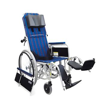 カワムラサイクル アルミ製フルリクライニング 車椅子 自走式 RR52-NB介助ブレーキ付≪検索用≫【05P05Dec15】