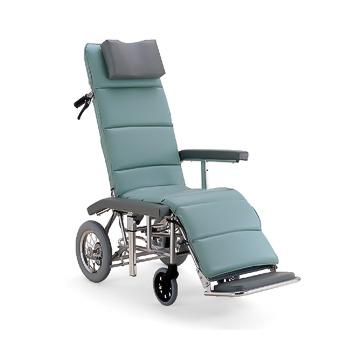 【送料無料】介助用 フルリクライニング車椅子 RR60NB介助ブレーキ付き(カワムラサイクル)※メーカーからの直送の為宅配便限定でのお届け(代引・同梱不可)≪検索用≫【05P05Dec15】