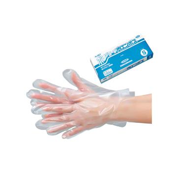 【業務用】ポリグローブ内エンボス 箱入 半透明 100枚X60箱【食品衛生法適合】【使い捨て手袋】【グローブ】【ポリエチレン手袋】