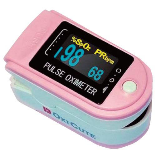 パルスオキシメーター オキシキュート ●品番:KOM750D-P ●カラー:ピンク 血中酸素飽和度 血中酸素濃度計【05P05Dec15】