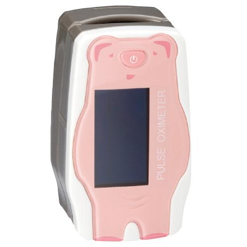パルスオキシメーター サーフィンPOミニ ●品番:3343352 ●カラー:ピンク(ブタ)血中酸素飽和度 血中酸素濃度計【05P05Dec15】