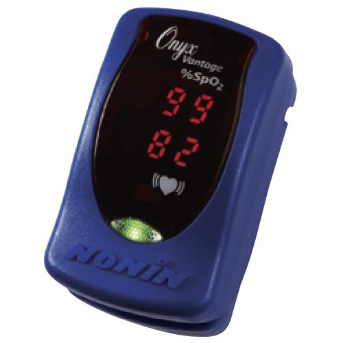 パルスオキシメーター オニックス ●品番:9590BLU ●カラー:青 血中酸素飽和度 血中酸素濃度計