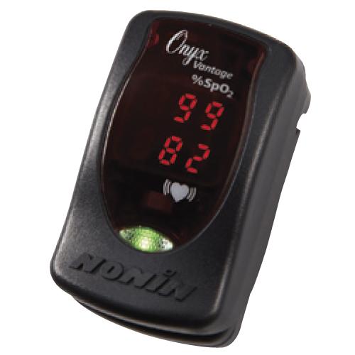パルスオキシメーター オニックス ●品番:9590BLK ●カラー:黒 血中酸素濃度計