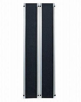 ワイドアルミスロープ EW150長さ150cm(2本1セット)※メーカーからの直送の為宅配便限定でのお届け(代引・同梱不可)【05P05Dec15】