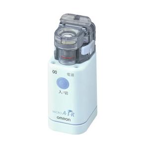 【送料無料!購入特典あり】オムロン 携帯式 小型 メッシュ式 ネブライザー NE-U22 吸入器 メッシュキャップ予備1個付き 購入特典:電子体温計進呈