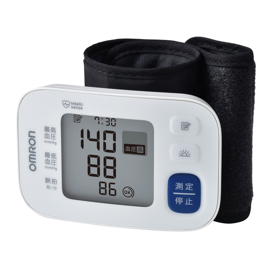オムロン 手首式血圧計 HEM-6183 自動血圧計