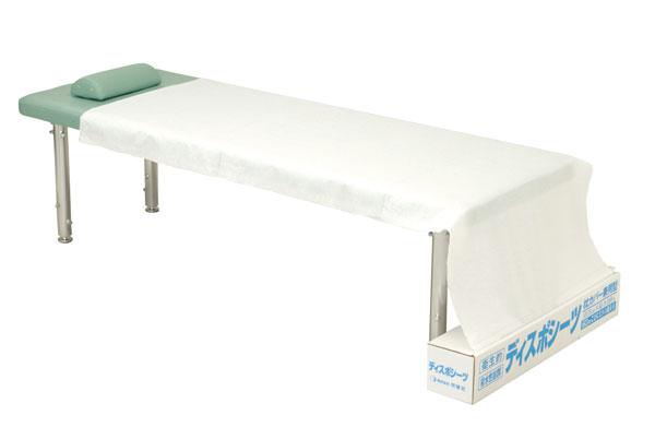【外箱の歪み 訳あり商品】メディカルディスポシーツ SB-122 ベッド用 ディスポ 75cm×100m 産科 婦人科用などに