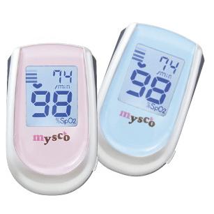【おまけ:高性能マスク】日本製 マイスコ パルスオキシメーターDX さくらピンク あじさいブルー 血中酸素飽和度 血中酸素濃度計 かわいい 使いやすい
