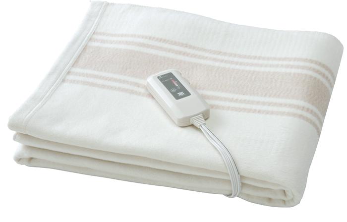 電気毛布 電磁波カット ゼンケン 電気掛敷オーガニックコットン毛布 電磁波99%カット
