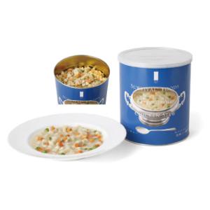 サバイバルフーズ チキンシチュー 422g × 6缶 長期保存食 非常用 防災 災害用 備蓄 避難用 非常食
