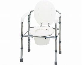 トイレチェア 折りたたみタイプ / T-8303≪検索用≫【05P05Dec15】
