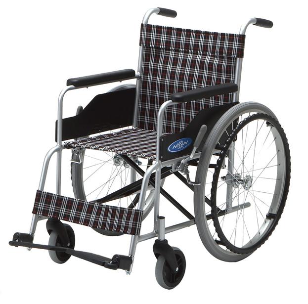 車椅子 アルミ製 軽量 折り畳み エアータイヤ 自走用車椅子 座幅40cm NC-1H 車椅子 ノーパンクタイヤ 座幅40cm 折りたたみ 軽量 アルミ製 日進医療器*非課税, ランジェリーショップ Clover:56095ae2 --- sunward.msk.ru