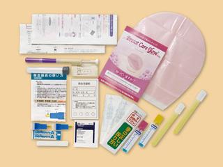 女性がん 検査 チェック 女性応援セットA 郵送検診 セルメスタ 代引決済不可 宅配便でのお届け
