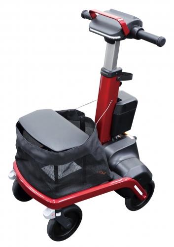 竹虎 ロボットアシストウォーカーRT.1 RT1-01RDN(レッド) RT1-01BKN(ブラック) 電動 歩行器 歩行車 おしゃれ 折畳み 電動アシスト歩行器 RT.ワークス