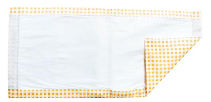 流涎パッド レギュラー 23cm×50cm 50枚入×8ケース 睡眠時などの唾液受け ディスポーザブル 清拭患者用品