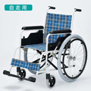 日進医療器 アルミ自走式車椅子 TK-10(ハイポリマータイヤ)【送料無料】