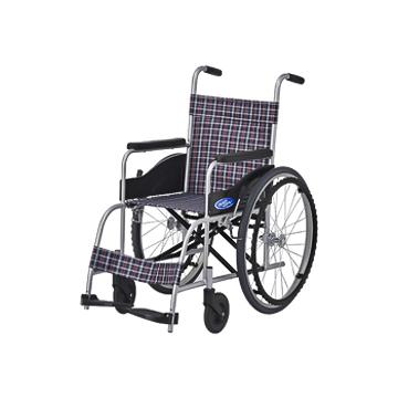 日進医療器 自走式車椅子 NEO-0(ノーパンク)【特価品・送料無料】