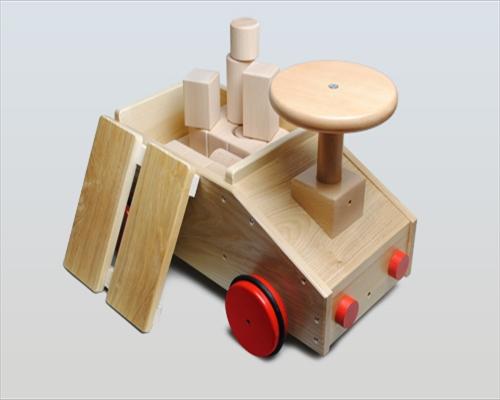 日本製木のおもちゃK28 乗用積木