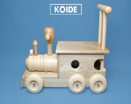 【送料無料】日本製木のおもちゃM23 汽車ポッポ
