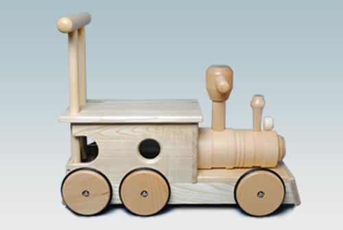 日本製木のおもちゃM23W 汽車ポッポ(木)【KOIDE】