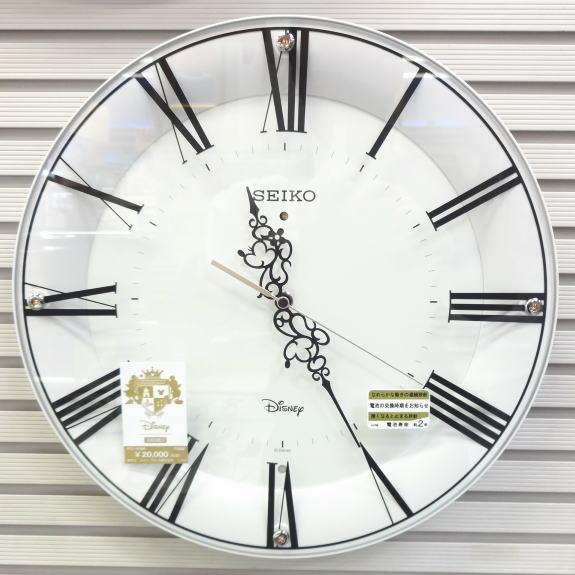 【あす楽対応】セイコー DISNEY 電波掛時計大人のディズニー ミッキー&ミニー FS506W