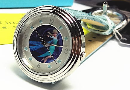 ディズニー【あす楽対応】「世界50本限定生産Disney クオーツ「アナと雪の女王」腕時計