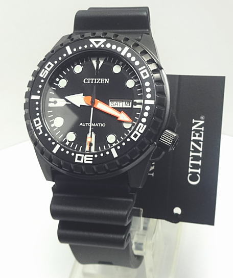 【あす楽対応】シチズン 自動巻機械時計オートマチック 10気圧防水 NH8385-11E