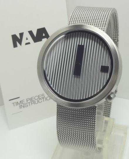 【あす楽対応】NAVA DESIGN ナバデザインJacquard 39mm メンズ O605ST NVA020042