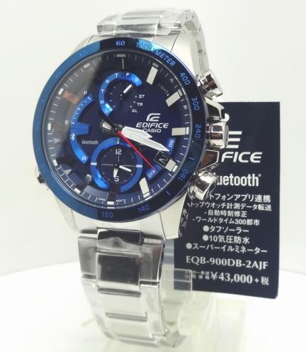 【あす楽対応】カシオ エディフィス EQB-900DB-2AJFタフソーラー モバイルリンク